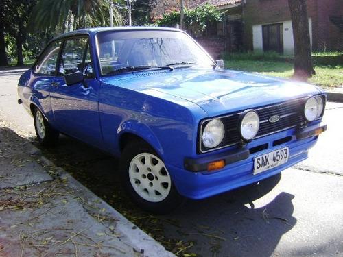 escort mk2 2.0  1980 '2 puertas