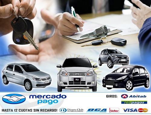 escribano publico, título de auto, certificados, plan cuotas
