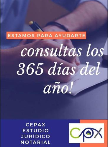 escribanos y abogados, consultas sin costo, estudio cepax