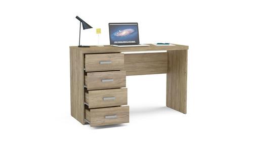 escritorio 4 cajones blanco oferta mobelstore