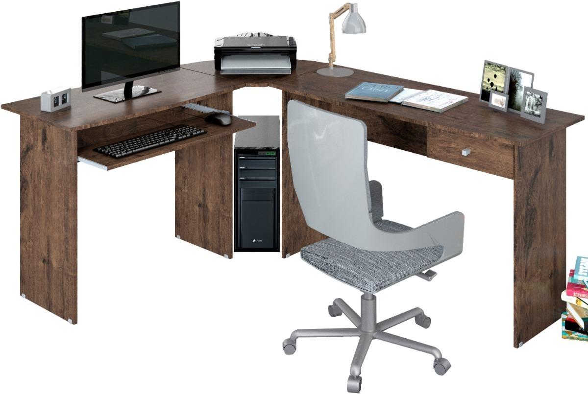 Escritorios De Oficina En L.Escritorio Amoblamiento Oficina En L Mesa Pc Con Cajon Max L