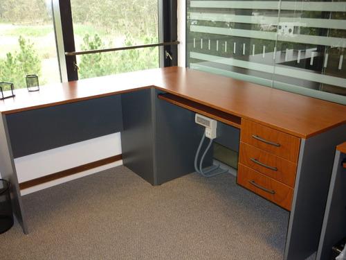 escritorio esquinero/ en l - somos fabricantes!!!