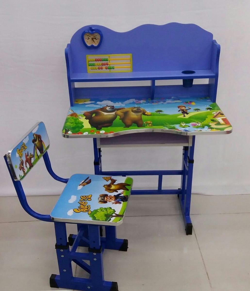 Escritorio Infantil Silla Y Mesa Regulables En Altura 1 490 00