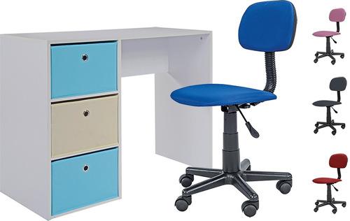 escritorio más asiento silla oficina divino