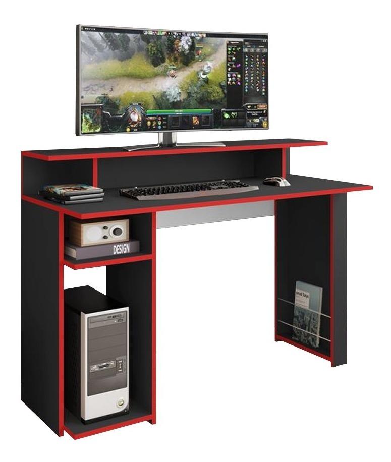 Escritorio Mesa Para Pc Laptop Gamer Con Estantes