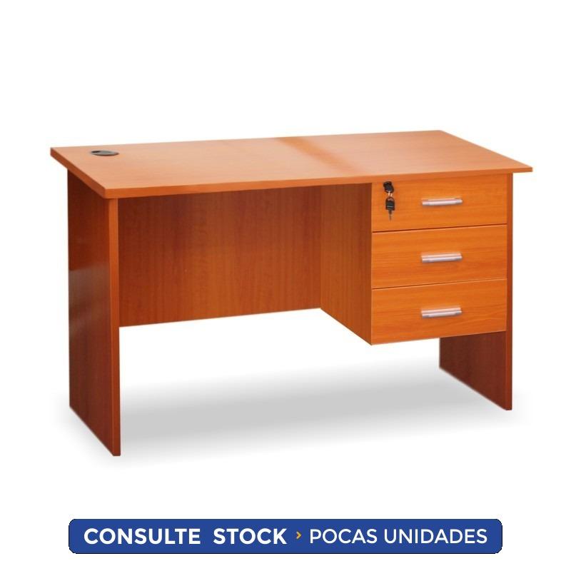 Escritorio Oficina Mesa Para Pc Con 3 Cajones - Districomp - U$S 98 ...