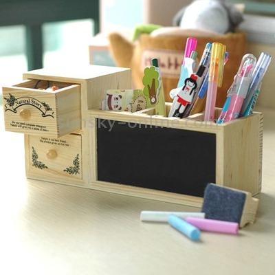 escritorio oficina pizarra madera portalapice