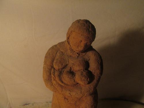 escultura de arcilla