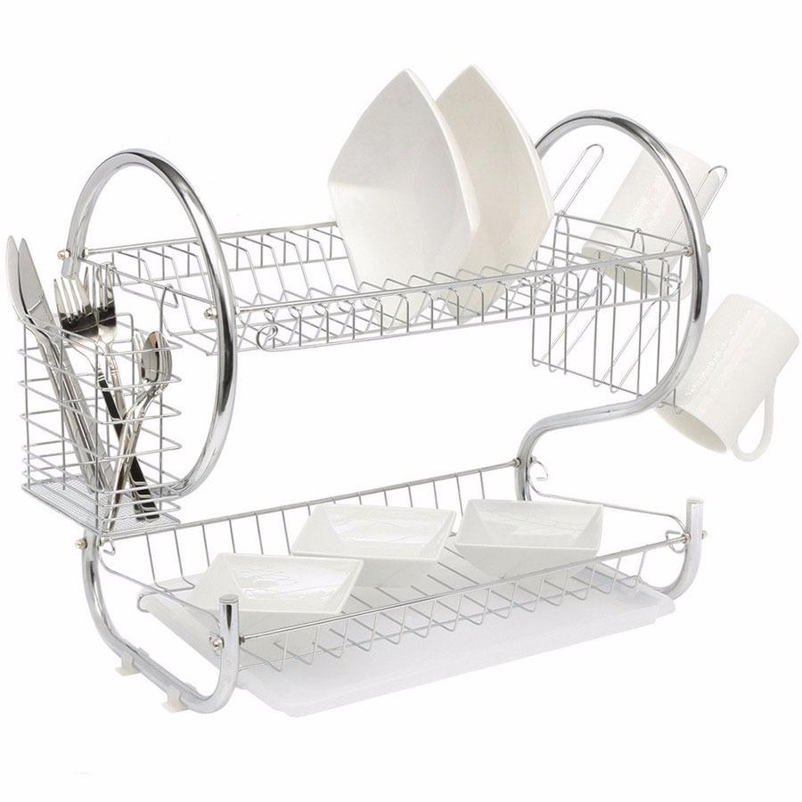 escurridor de vajilla 2 niveles platos vasos cocina en loi. Cargando zoom. 231119c1f000
