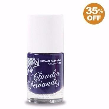 esmalte de uñas by claudia fernandez violeta nice