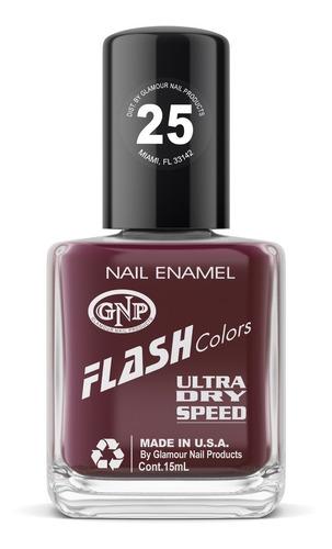 esmalte flash colors de gnp 15ml nro.25