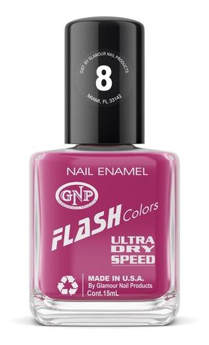 esmalte flash colors de gnp 15ml nro.8