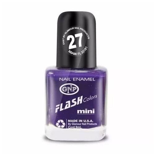 esmalte flash colors de gnp 9ml nro.27 violeta intenso