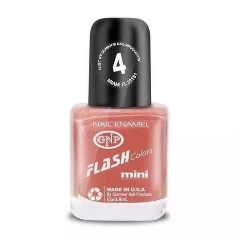 esmalte flash colors de gnp 9ml nro.4 rosa
