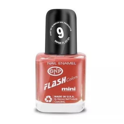 esmalte flash colors de gnp 9ml nro.9