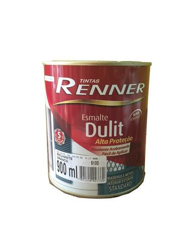 esmalte sintético dulit renner brillante 0,9 lts rojo