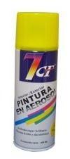 esmalte sintético pintura aerosol color amarillo 400ml. 7cf