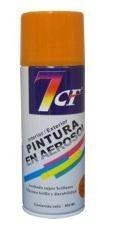 esmalte sintético pintura aerosol color naranja 400ml. 7cf