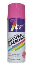 esmalte sintético pintura aerosol color rosado 400ml. 7cf