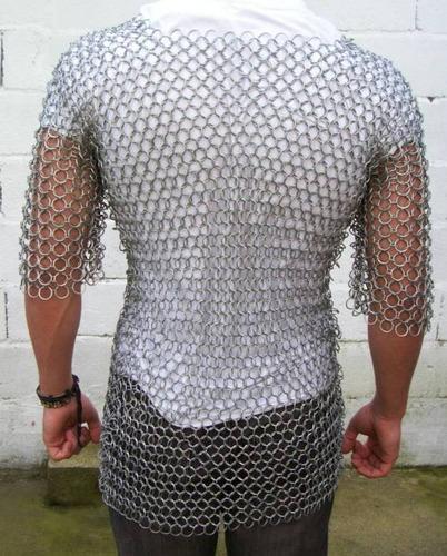 espada - cota de malla artesanal - cosplay