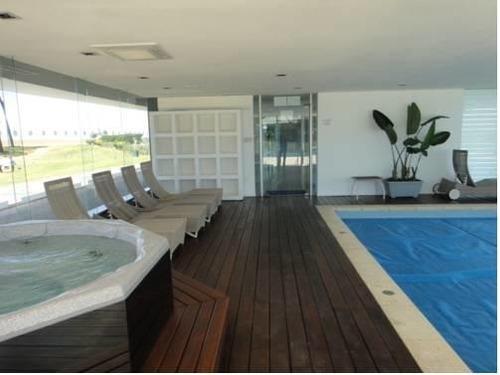 espectacular apartamento sobre la rambla y laguna