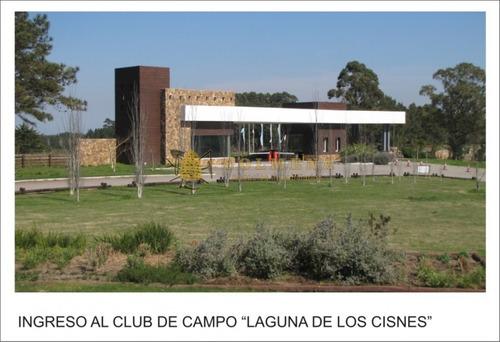 espectacular lote en club de campo laguna de los cisnes - ref: 1134