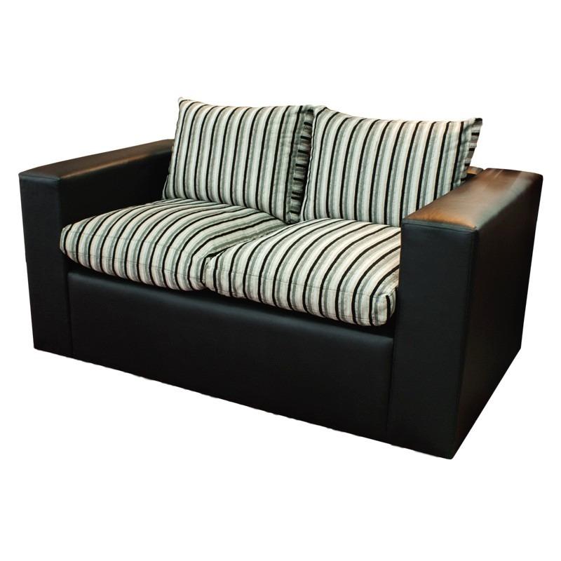 mejores telas compre los más vendidos fotos oficiales Espectacular Sillon De 2 Cuerpos Muy Comodo, Sofa, Living !!