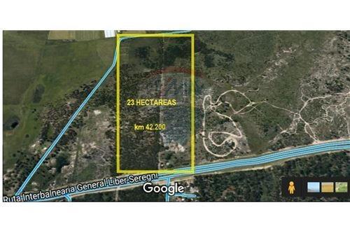 espectacular terreno de 23 hectáreas para desarrollo.