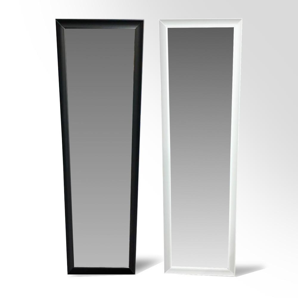 Espejo 1 Metro Con Marco Para Puerta Negro - $ 1.049,00 en Mercado Libre