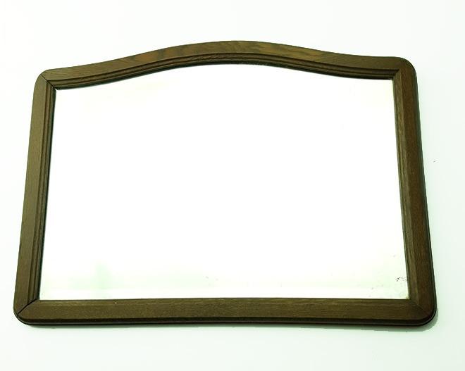 Espejo Antiguo Marco De Madera - $ 500,00 en Mercado Libre