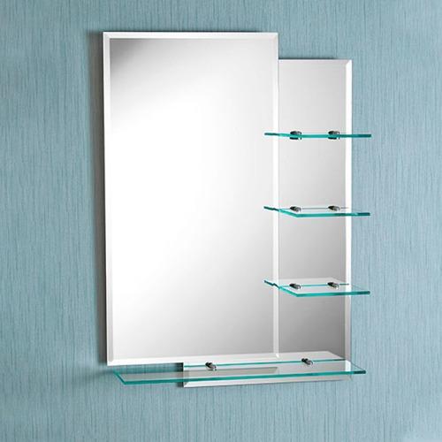 espejo para baño con repisa sensi dacqua 70x50cm calidad