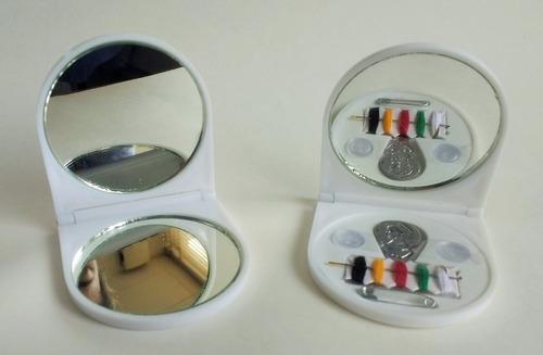 espejos para baby shower costureros  personalizados