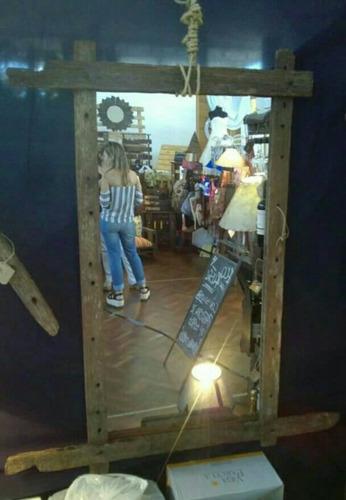 espejos rústicos !