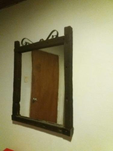 espejos rústicos