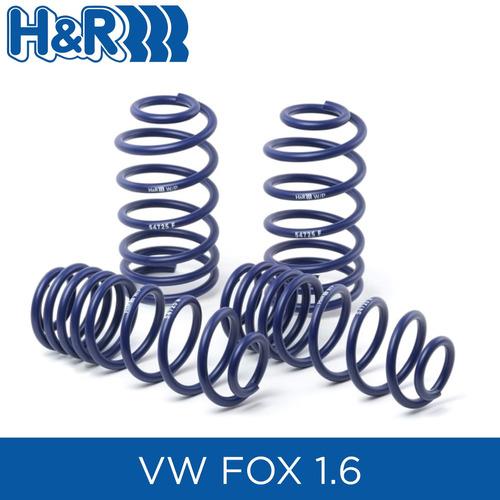 espirales progresivos h&r hyr hr sport alemanes - vw fox 1.6