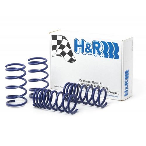 espirales progresivos h&r sport alemanes - peugeot 206 1.6