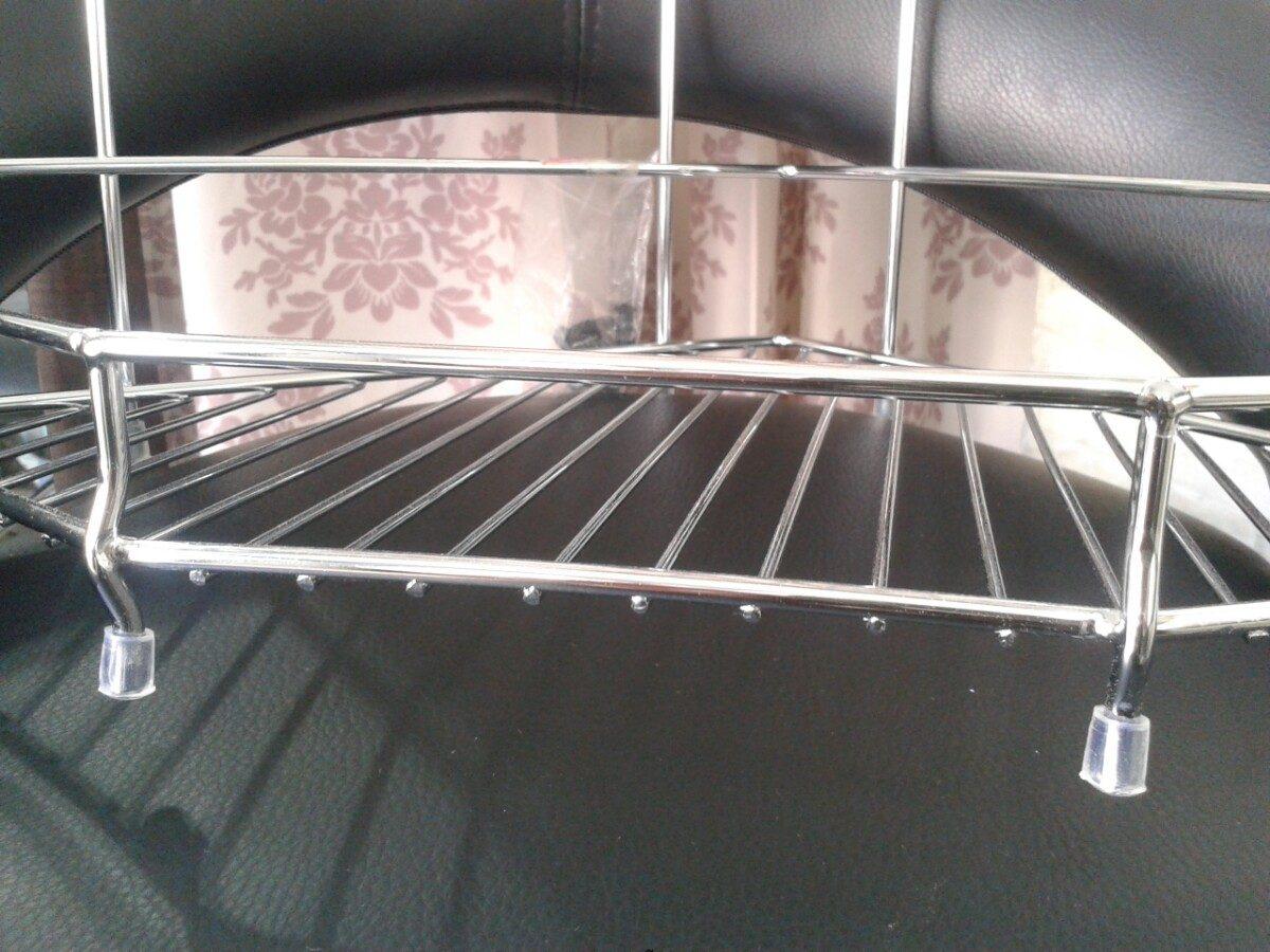 esquinero en metal 2 pisos para baño accesorio repisa ducha. Cargando zoom. b6badd8a6425