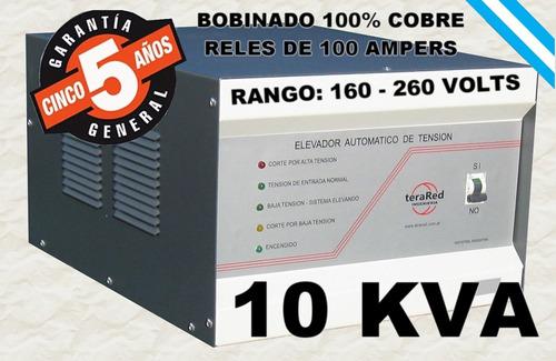 estabilizador elevador de tensión 10 kva 10000w casa oferta