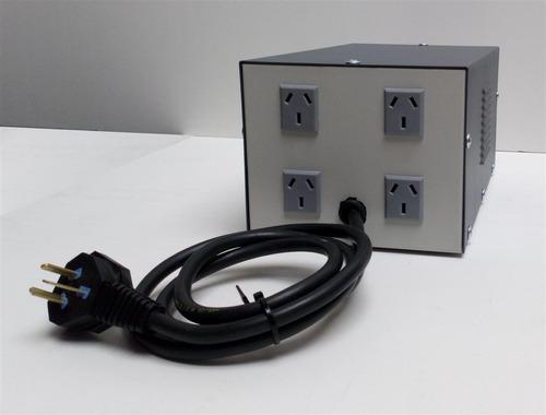 estabilizador elevador tensión automatico 4kva siempre 220