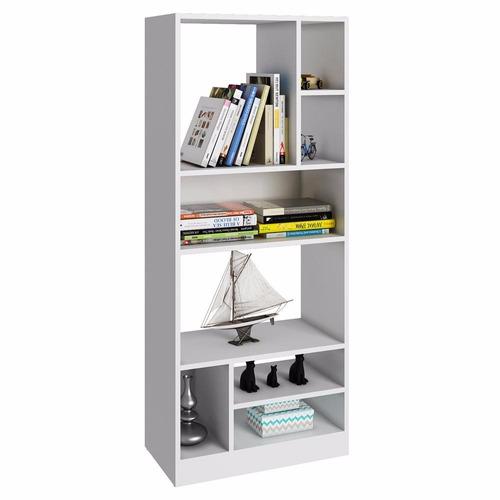estanteria, biblioteca blanco mobelstore semi brillo