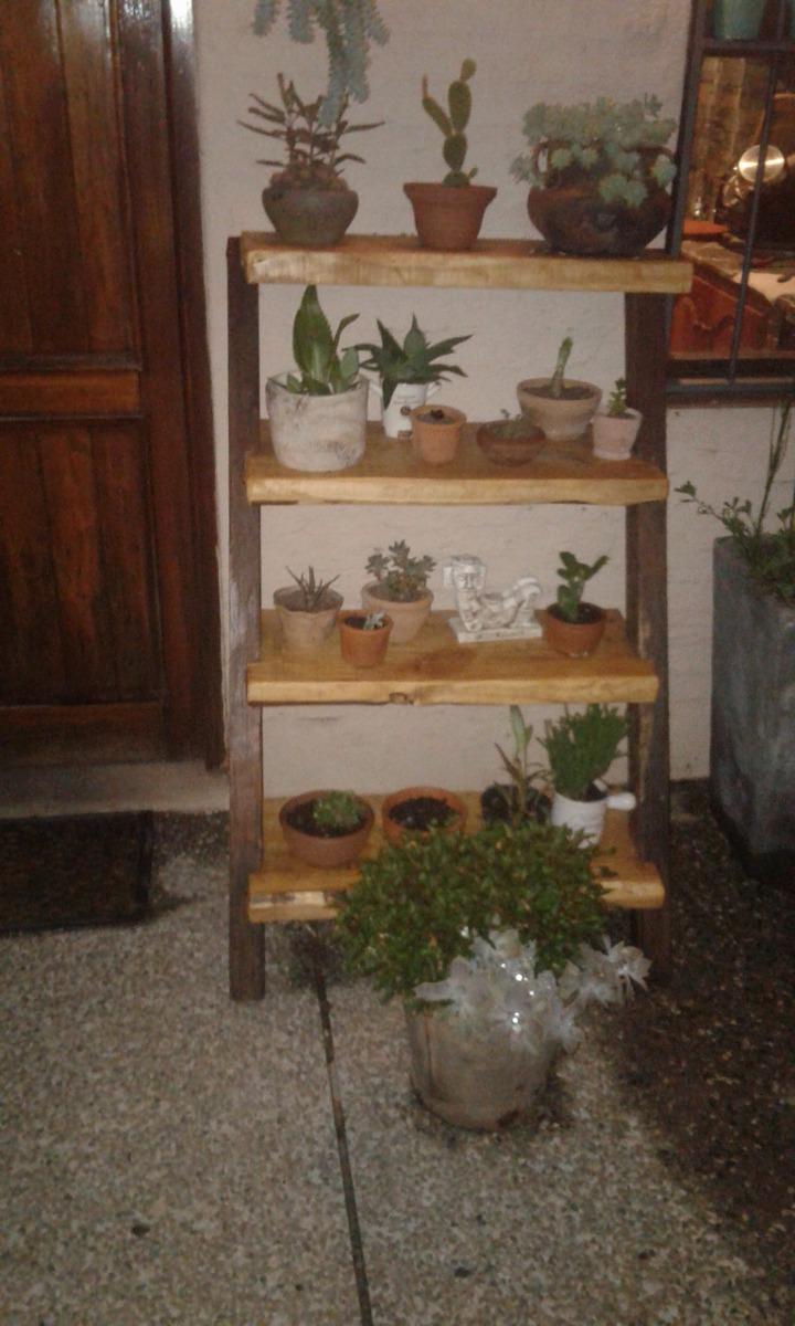 Estanteria Rustica Para Plantas A Medida 500000 En Mercado Libre - Estanteria-para-plantas
