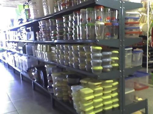 estanterias metalicas reforzadas 0,30 x 0,84 x 2mts. oferta!