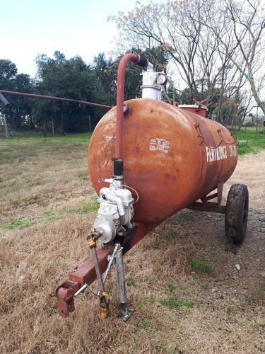 estiercolera fertilizadora tanque fertilance