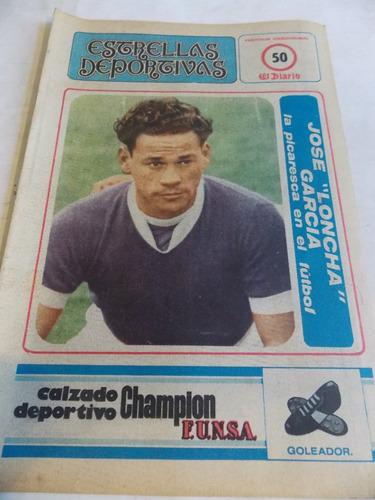 estrellas deportivas, decada 70, supl el diario, n° 50