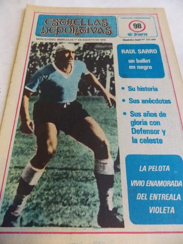 estrellas deportivas, decada 70, supl el diario, n° 98