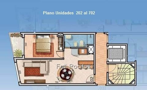 estrene apartamento de 1 dormitorio