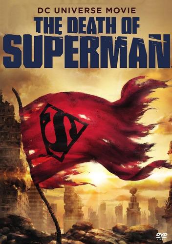 estreno  la muerte de superman   2018   dvd