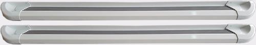 estribos aluminio blanco g2 bepo para ford ranger 2013+