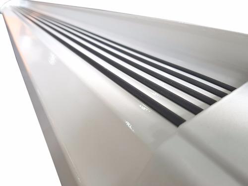 estribos aluminio blanco g2 bepo para toyota hilux 2016+