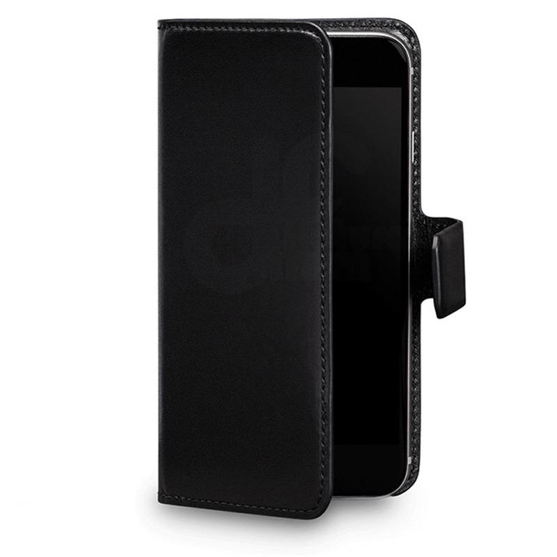 433cf03c26f estuche agenda cuero negro iphone 5 y 5s magia black dimm. Cargando zoom.